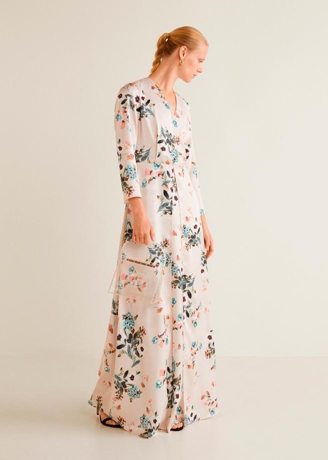 Vestidos low cost para invitadas de boda en Otoño