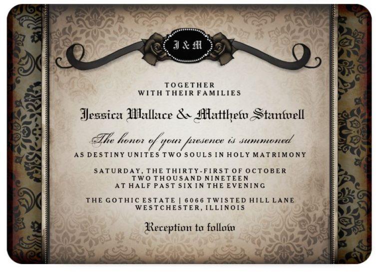Invitacion Halloween Reverso