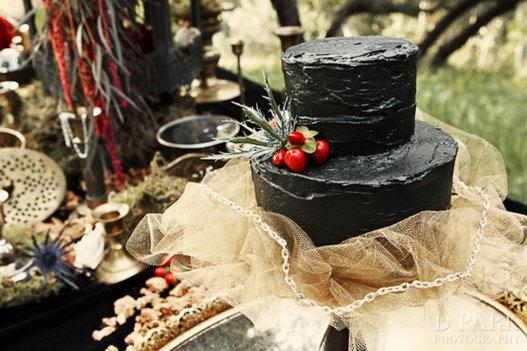 Tarta nupcial Halloween