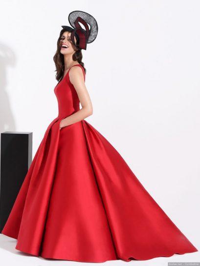Vestido novia rojo Cymbeline