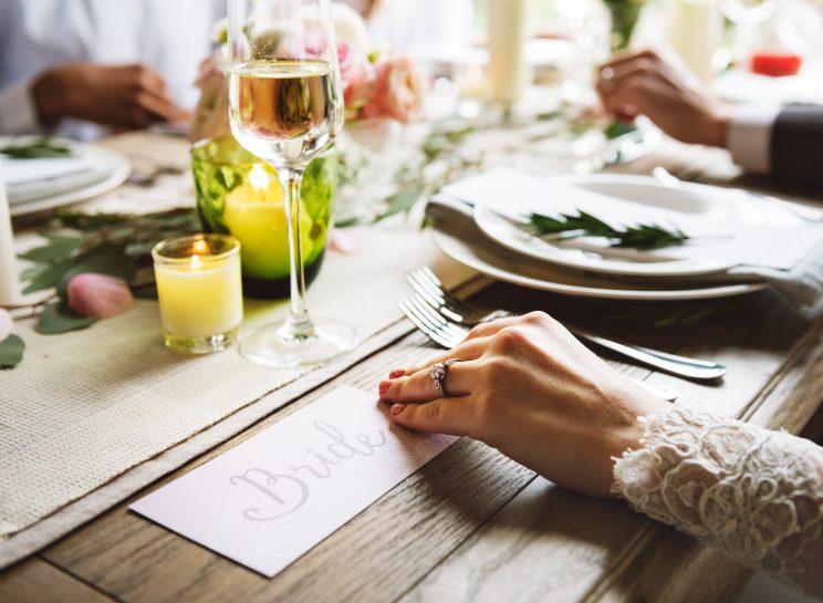 Cómo elegir el menú de boda
